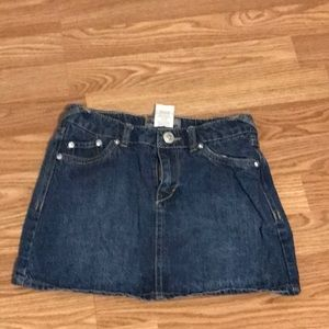 Cute junior jean skirt